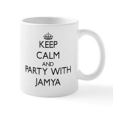 Keep Calm and Party with Jamya Mugs