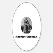 Harriet Tubman Oval Decal