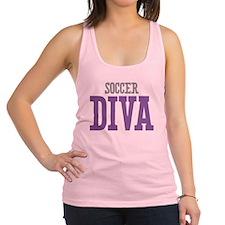Soccer DIVA Racerback Tank Top