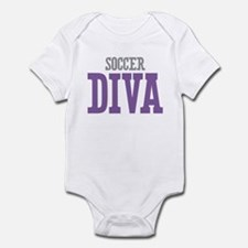 Soccer DIVA Infant Bodysuit