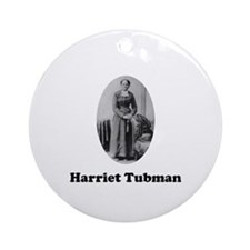 Harriet Tubman Ornament (Round)