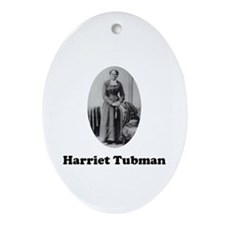 Harriet Tubman Oval Ornament