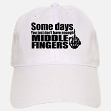 Middle Fingers Baseball Baseball Cap