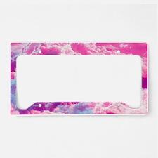 Girly Infinity Symbol Bright  License Plate Holder