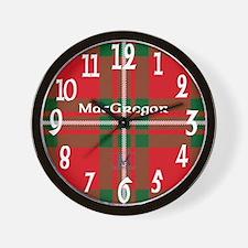 MacGregor Clan Wall Clock