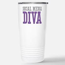 Social Media Travel Mug