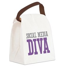 Social Media Canvas Lunch Bag
