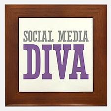 Social Media Framed Tile