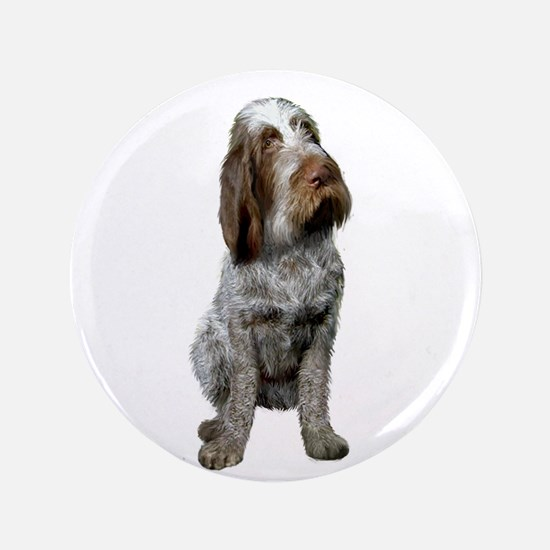 "Italian Spinone (Roan) 3.5"" Button"
