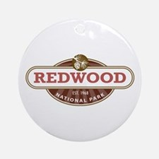 Redwood National Park Ornament (Round)