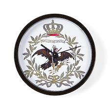 Prussian Eagle 1741 Wall Clock