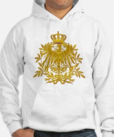 Gold German Eagle crest Hoodie