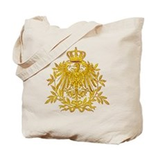 Gold German Eagle crest Tote Bag