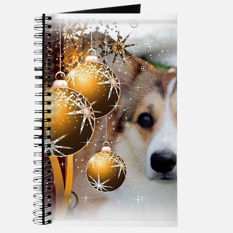 Holiday Sable Corgi Journal