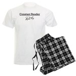 Constant Reader Men's Light Pajamas