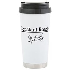 Constant Reader Stainless Steel Travel Mug