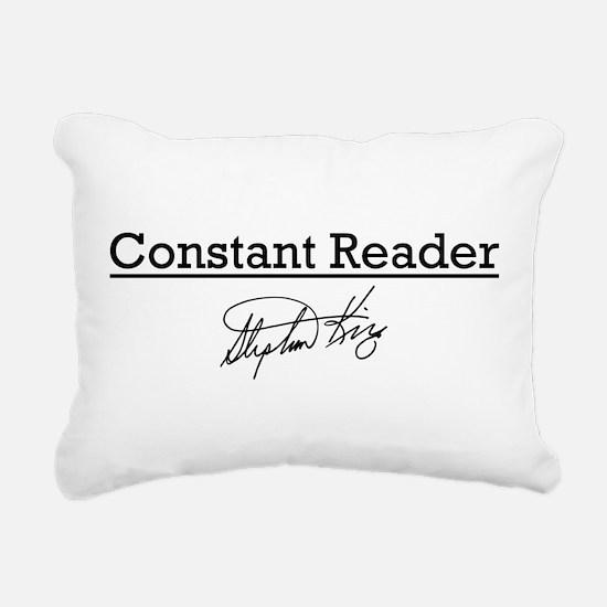 Constant Reader Rectangular Canvas Pillow