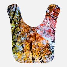 Autumn Trees Oil Painting Bib