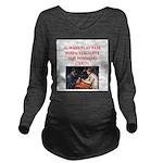card game Long Sleeve Maternity T-Shirt