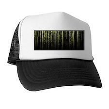 Digital Rain - Yellow Hat
