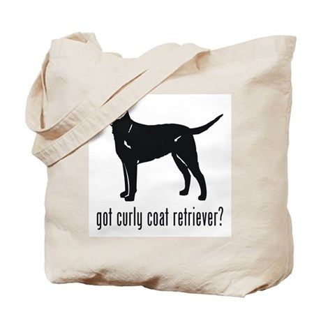Curly Coat Retriever Tote Bag