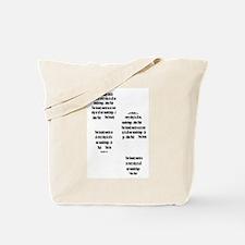 Muir tracks Tote Bag