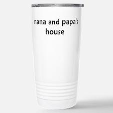 Cute Nana and grandpa Travel Mug
