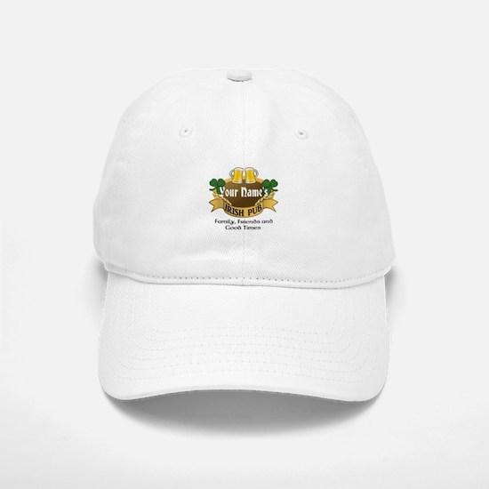 Personalized Name Irish Pub Baseball Baseball Baseball Cap