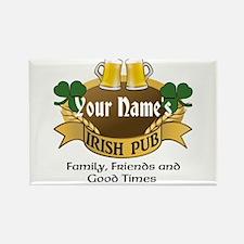 Personalized Name Irish Pub Magnets