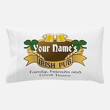 Personalized Name Irish Pub Pillow Case