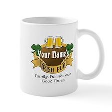 Personalized Name Irish Pub Mugs