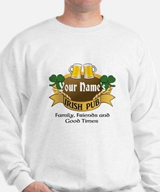 Personalized Name Irish Pub Jumper