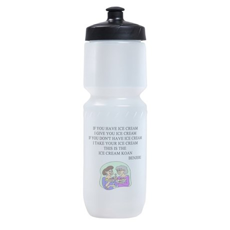 xen ice cream koan Sports Bottle