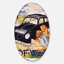 KDF Wagen,Original German Peoples C Decal