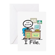 CPA I File Greeting Cards (Pk of 10)