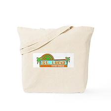 Cute Saint lucia Tote Bag