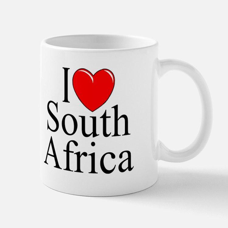 """""""I Love South Africa"""" Mug"""