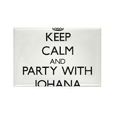 Keep Calm and Party with Johana Magnets