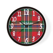 Maclean Clan Wall Clock