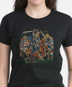 Medieval Knights in Combat Tee