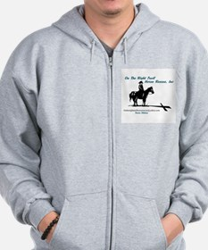 On the Trail Horse Rescue Zip Hoodie