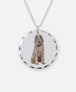 Italian Spinone (Wheaten) Necklace