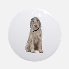 Italian Spinone (Wheaten) Ornament (Round)