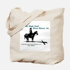 On the Trail Horse Rescue Tote Bag