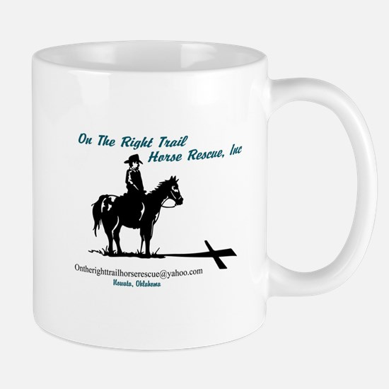 On the Trail Horse Rescue Mugs