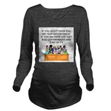 election jury duty gifts apparel Long Sleeve Mater