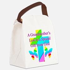 DARLING GRANDMA Canvas Lunch Bag