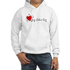 """I Love You"" [Swedish] Hoodie"