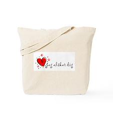 """I Love You"" [Swedish] Tote Bag"