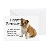 Bulldogs Greeting Cards